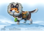 Daily Paint 1841# Barktic Explorer
