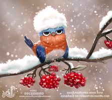 Daily Paint 1842# Decembird