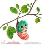 Daily Paint 1843# Hot Cocoaoon