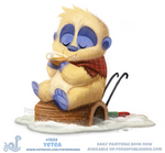 Daily Paint 1859# Yetea