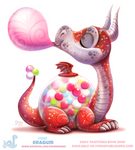 Daily Paint 1861# Dragum