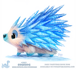 Daily Paint 1862# Edgehog