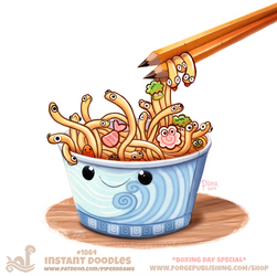 Daily Paint 1864# Instant Doodles