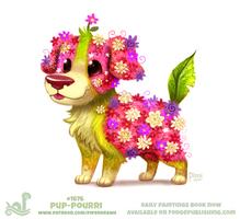 Daily Paint 1866# Pup-Pourri