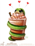 Daily Paint 1868# Wrappuccino