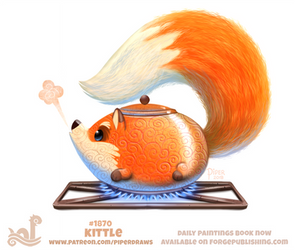 Daily Paint 1870# Kittle