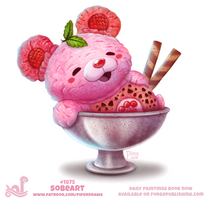 Daily Paint 1875# Sobeart by Cryptid-Creations