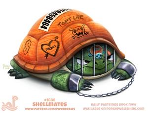 Daily Paint 1888# Shellmates