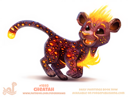 Daily Paint 1893# Cheatah