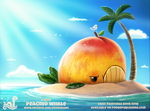 Daily Paint 1895# Peached Whale