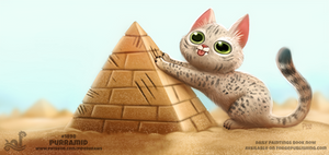 Daily Paint 1898# Purramid