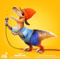 Daily Paint 1899# Paraptor