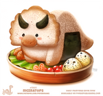 Daily Paint 1901# Riceratops