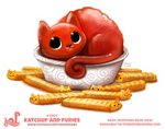 Daily Paint 1904# Katchup and Furies
