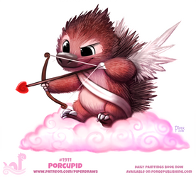 Daily Paint 1911# Porcupid
