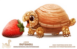 Daily Paint 1914# Nutshell