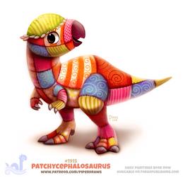 Daily Paint 1915# Patchycephalosaurus