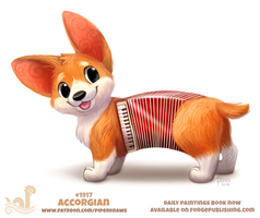 Daily Paint 1917# Accorgian by Cryptid-Creations