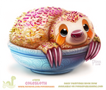 Daily Paint 1919# Colesloth