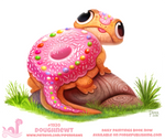 Daily Paint 1920# Doughnewt