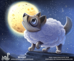 Daily Paint 1924# Woolf