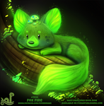 Daily Paint 1925# Fox Fire