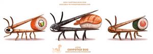 Daily Paint 1926# Chopstick Bug