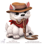 Daily Paint 1935# Old Westie