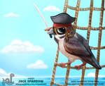 Daily Paint 1937# Jack Sparrow