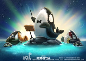 Daily Paint 1938# Orcaestra