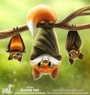 Daily Paint 1939# Flying Fox