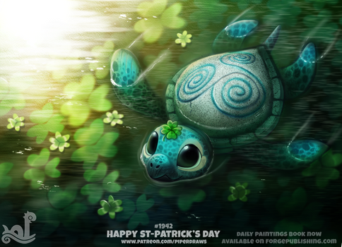 Daily Paint 1942# Happy St-Patrick's Day