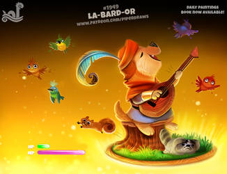 Daily Paint 1949# La-bard-or by Cryptid-Creations