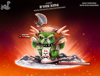 Daily 1951# B'ork King by Cryptid-Creations