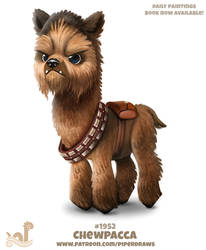 Daily Paint 1952# Chewpacca