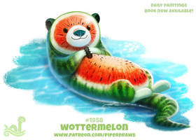 Daily Paint 1958# Wottermelon