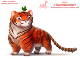 Daily Paint 1960# Strawrberry