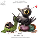 Daily Paint 1965# Crowchet