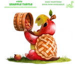 Daily Paint 1978# Snapple Turtle