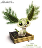 Daily Paint 1990# Fennel Fox