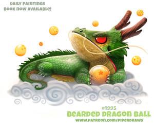 Daily Paint 1995# Bearded Dragon Ball