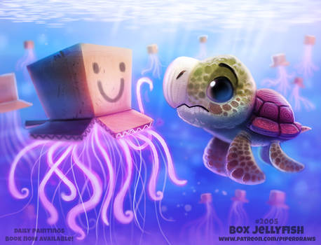 Daily Paint 2005# Box Jellyfish