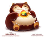 Daily Paint 2011# Smorelax