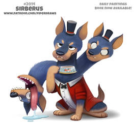 Daily Paint 2014# Sirberus by Cryptid-Creations