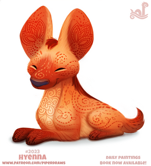 Daily Paint 2023# Hyenna