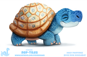 Daily Paint 2025# Rep-tiles