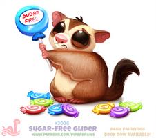 Daily Paint 2026# Sugar-Free Glider
