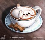 Daily Paint 2032# Cappoochino
