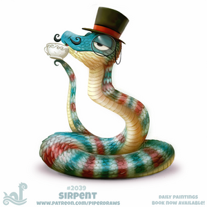 Daily Paint 2039# Sirpent