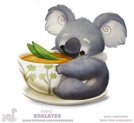 Daily Paint 2047# Koalatea